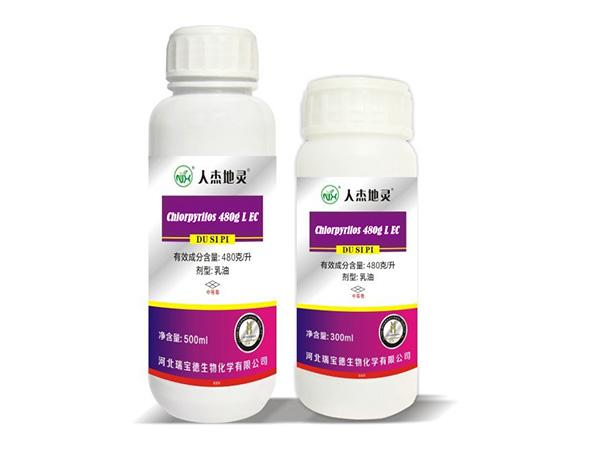Chlorpyrifos 480g/L EC